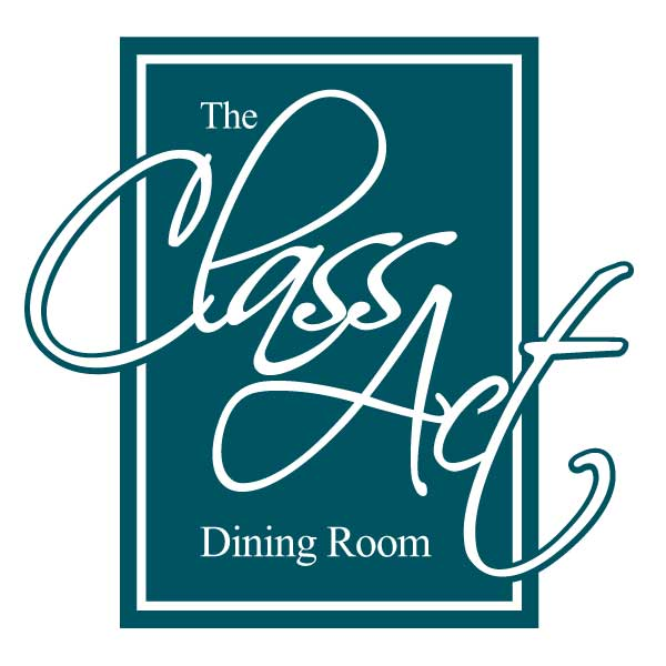 An image of the Class Act Dining Room logo.
