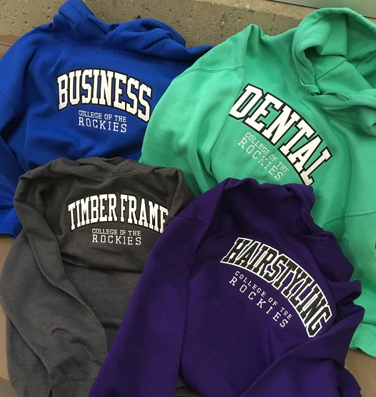 An image of a College program hoodie.