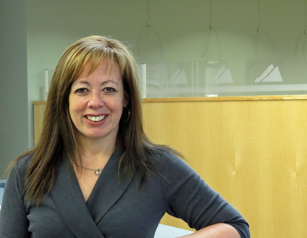An image of Leslie Molnar, Mathematics instructor at College of the Rockies.