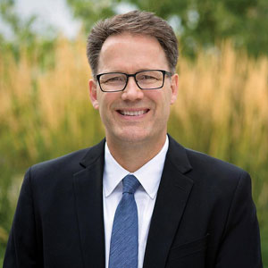 An image of Paul Vogt, President and CEO of College of the Rockies.