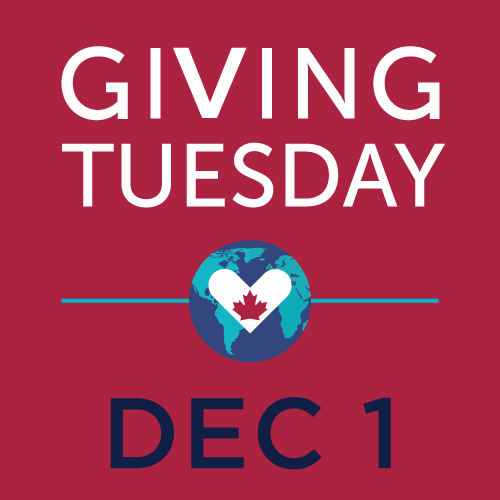 An image of the Giving Tuesday Canada logo