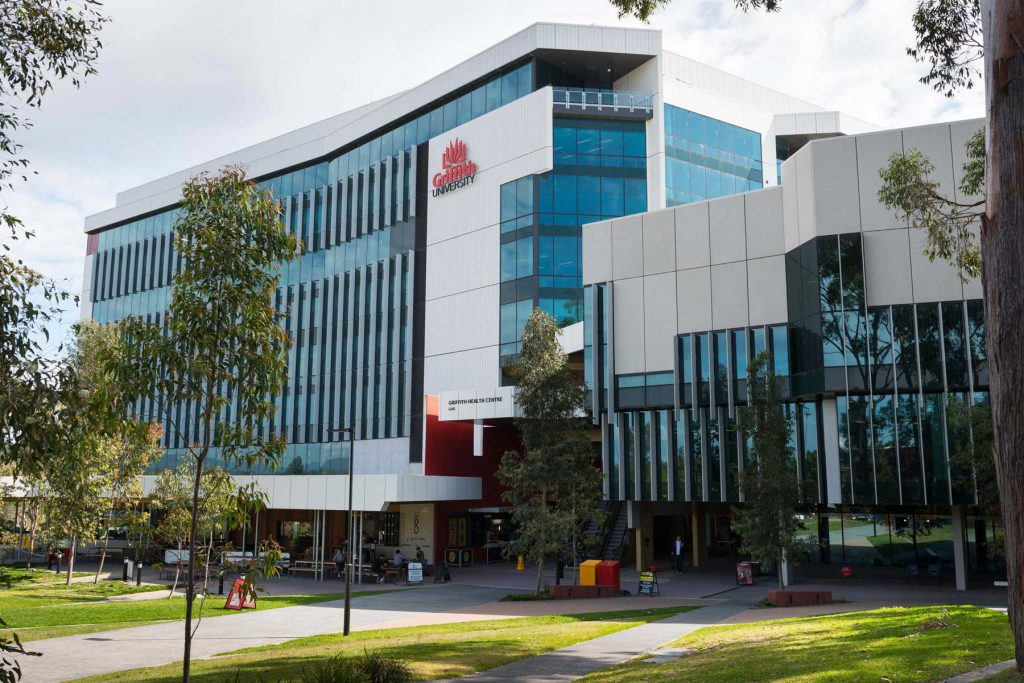 An image of Griffith University in Queensland, Australia