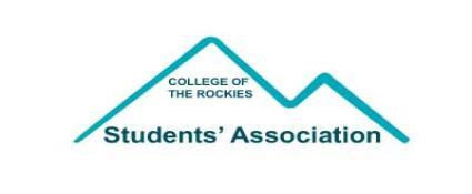An image of the College's Students' Association logo